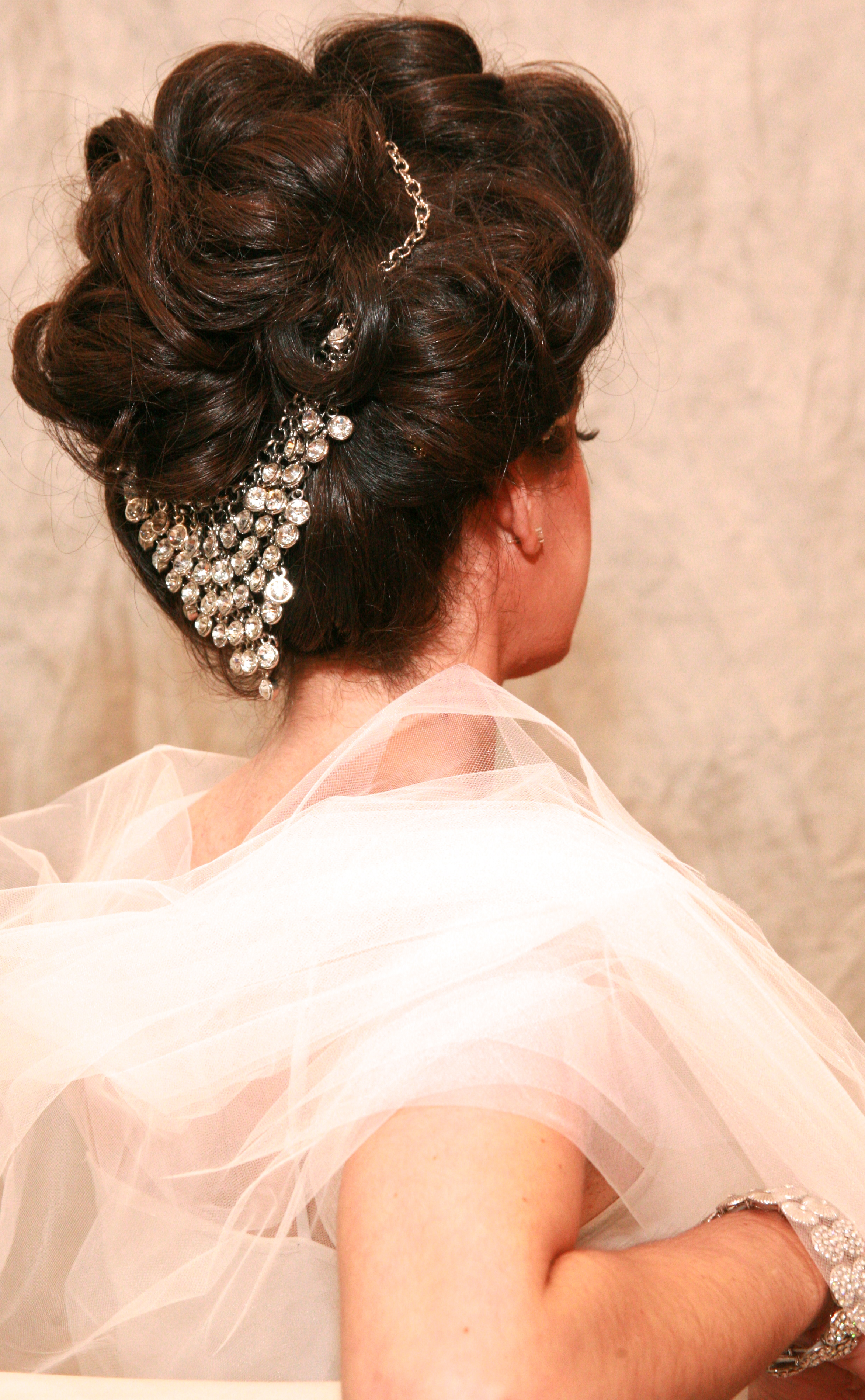 Long Island Bridal up-do