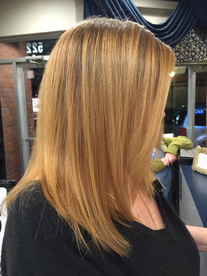 Hair Cut and Color at Dominic Ricci