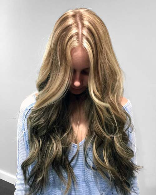 Highlight and lowlight by Amy at Dominic Ricci Salon